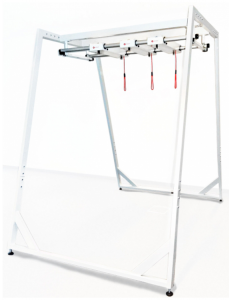 Redcord Workstation Professional Floor Stand z 2 trawersami